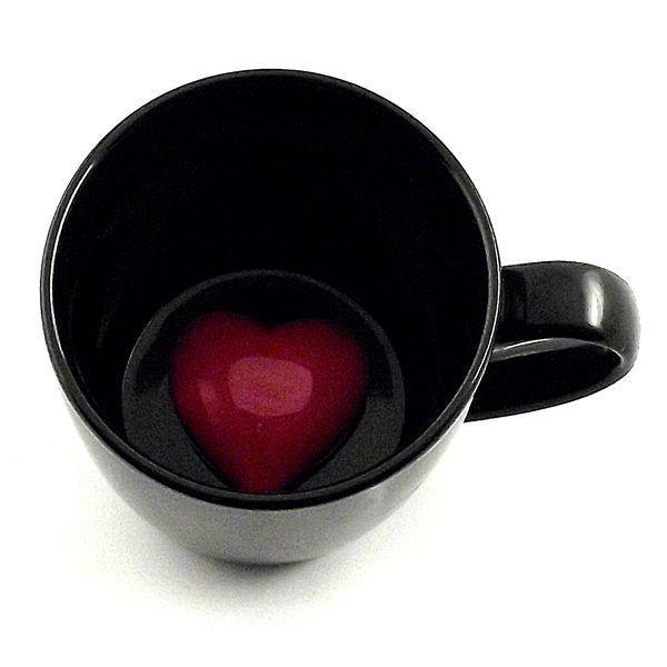Кружка с Сердцем на дне