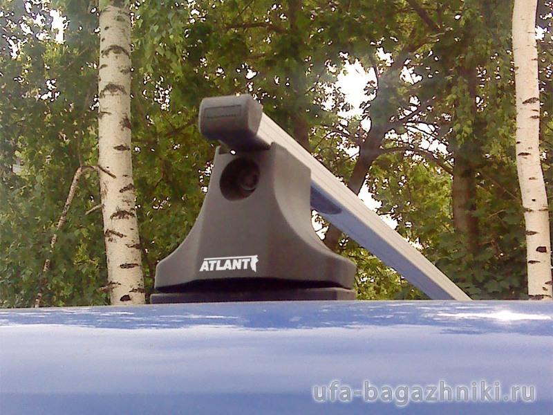 Багажник на крышу Citroen Berlingo 2008-..., Атлант, прямоугольные дуги