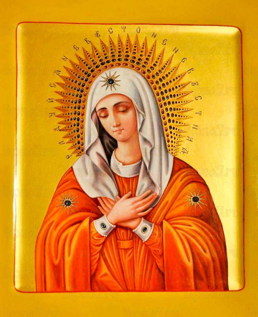 Умиление Серафимо-Дивеевская икона Божией Матери