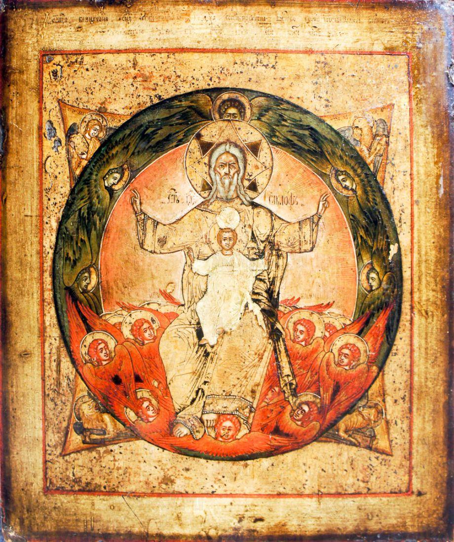 Новозаветная Троица - Отечество (копия старинной иконы)