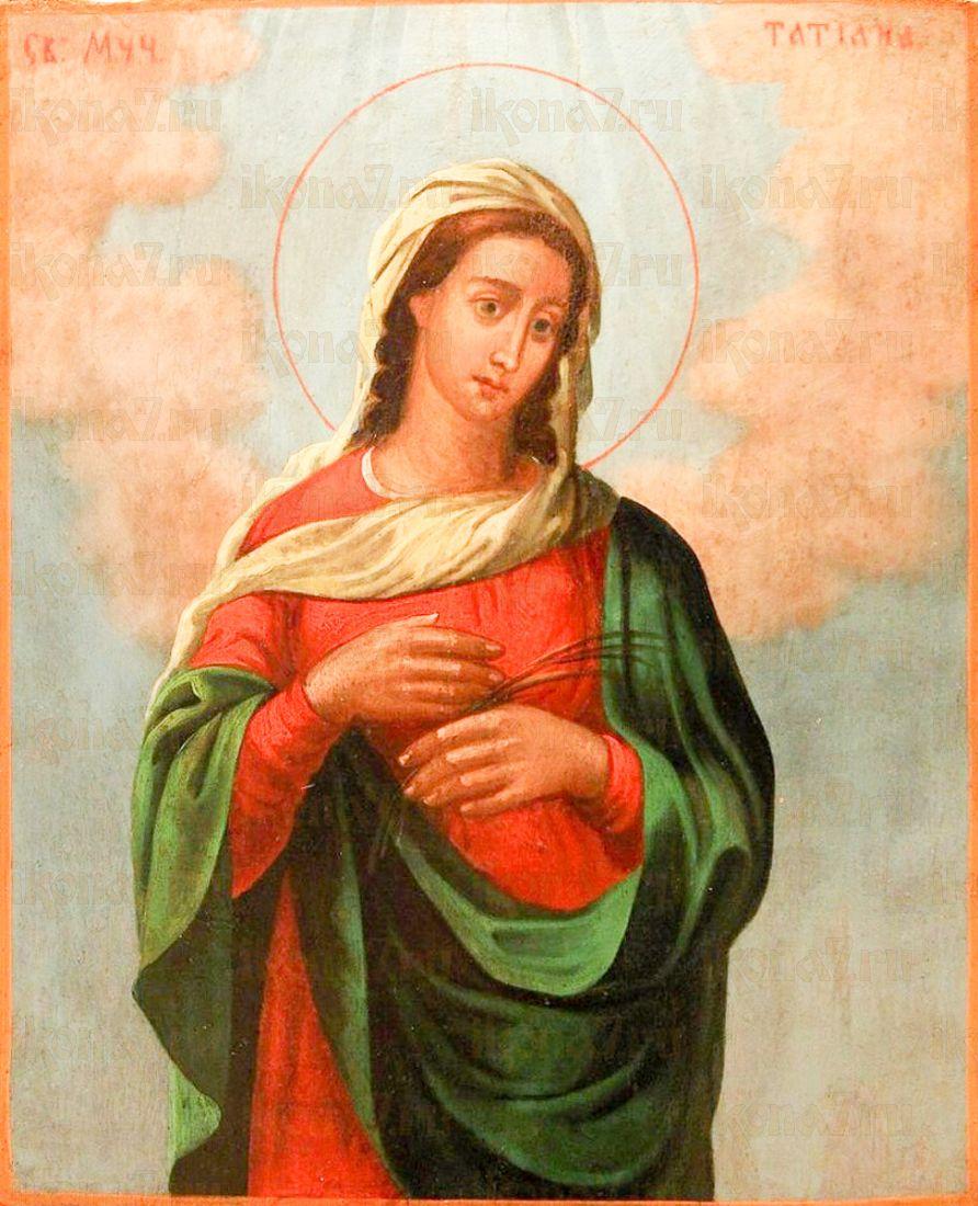 Икона Татьяна Римская (копия старинной)