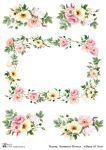 Декупажные карты Summer flower