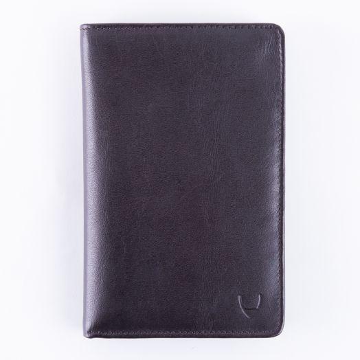 Эксклюзивное портмоне путешественника с отделением для паспорта Hidesign Marseille Brown