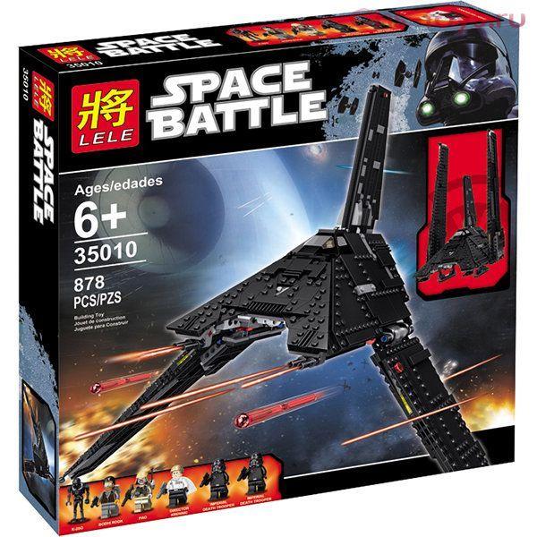 "LELE SPACE BATTLE""Имперский Шаттл "" 878 деталей NO.35010"