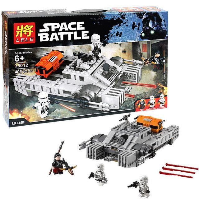 """LELE SPACE BATTLE""""Имперский десантный танк"""" 405 деталей NO.35012"""