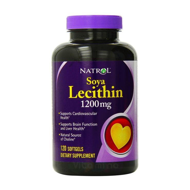 Natrol Лецитин 1200 мг, 120 капс
