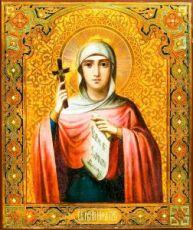 Нина, равноапостольная (копия старинной иконы)
