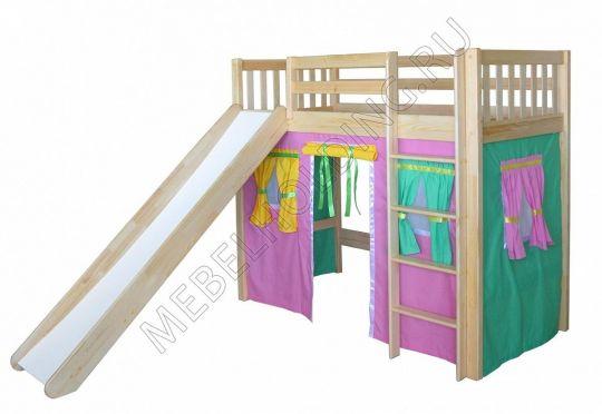 Игровая кровать-чердак Трубадур-2