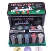Набор для Покера 200 фишек + сукно