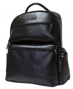 Кожаный рюкзак Faetano black