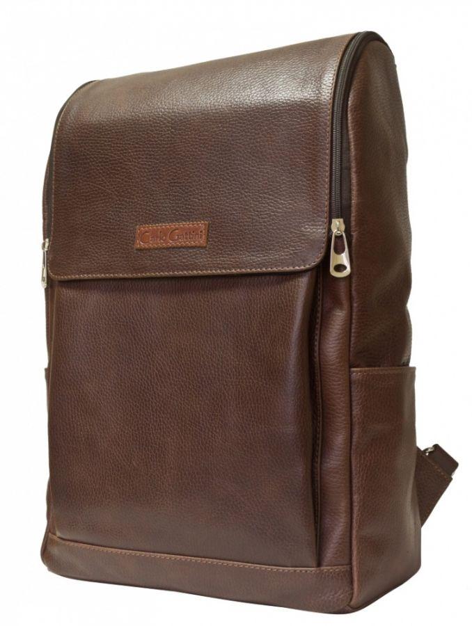 Кожаный рюкзак Tuffeto dark terracotta