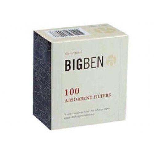 Фильтры трубочные BIGBEN Original угольные (10х100)