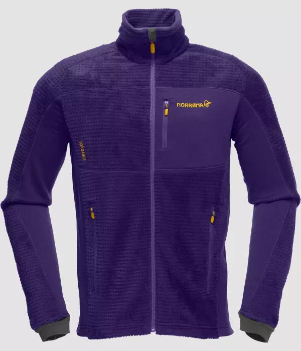 Norrona Lofoten warm2 High Loft M DEEP PURPLE