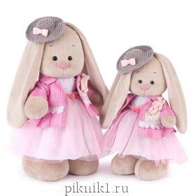 Зайка Ми Розовый бутон 25 см и 32 см