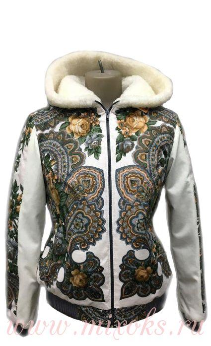 """Куртка из платка """"Азалия"""""""