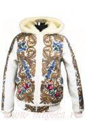 Куртка из павлопосадского платка