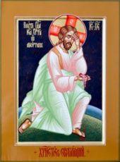 Плач Иисуса Христа об убиенных младенцах (икона на дереве)