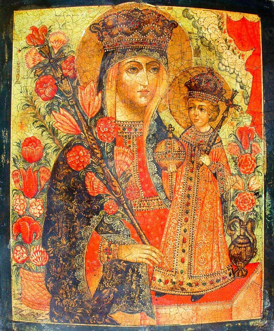 Неувядаемый Цвет (копия иконы 18 века)