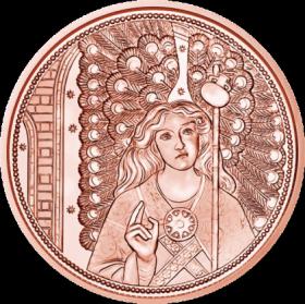 Архангел Рафаил-Ангел исцеления 10 евро Австрия 2018 на заказ
