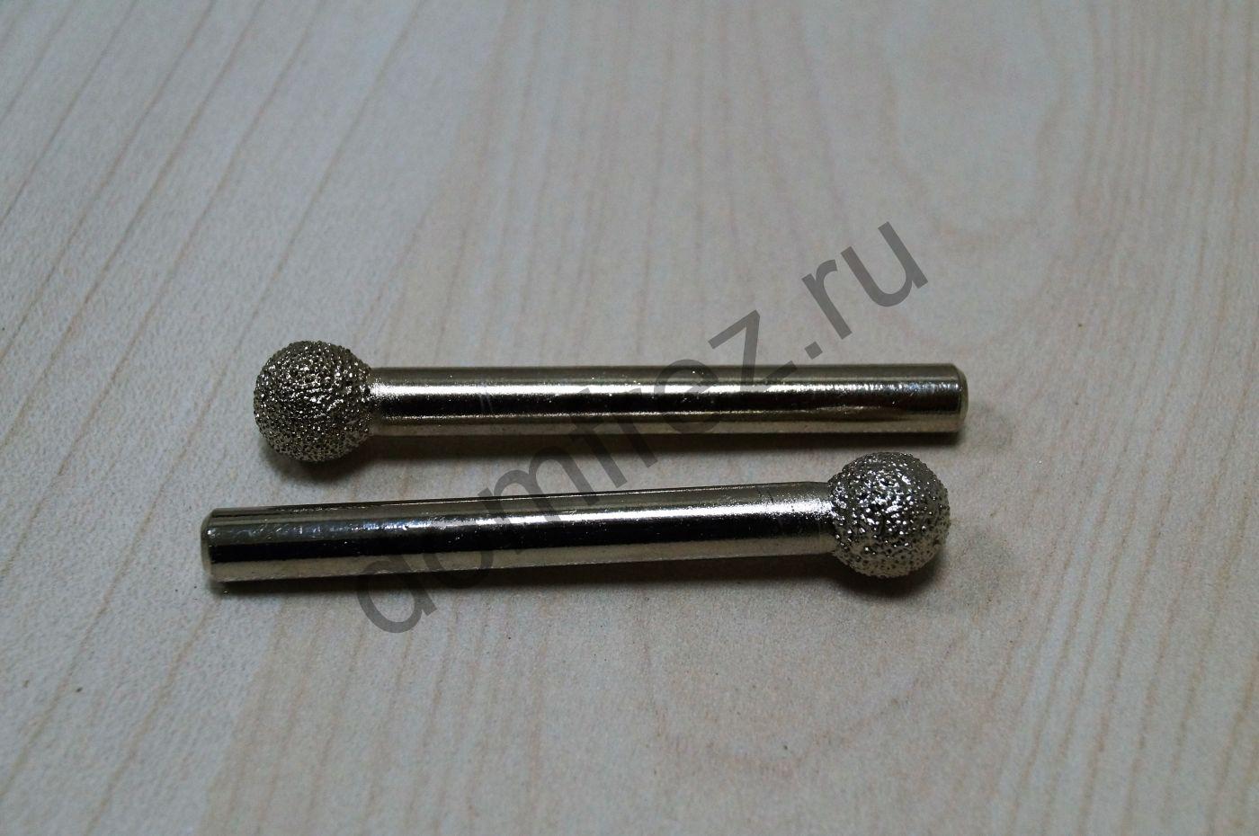 Фреза алмазная концевая фасонная №9 6x10х60 A8910609