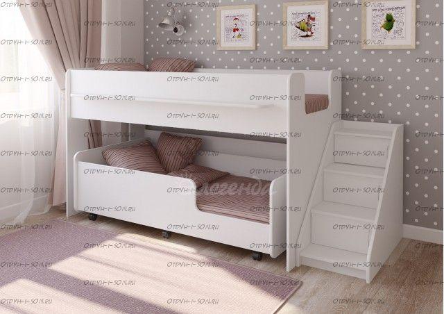 Кровать двухъярусная Легенда-23.4