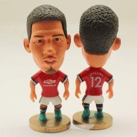 Кристофер Смоллинг - Фигурка футболиста №12 Манчестер Юнайтед