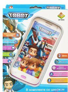 Интерактивный телефон Тоботы (Tobot)