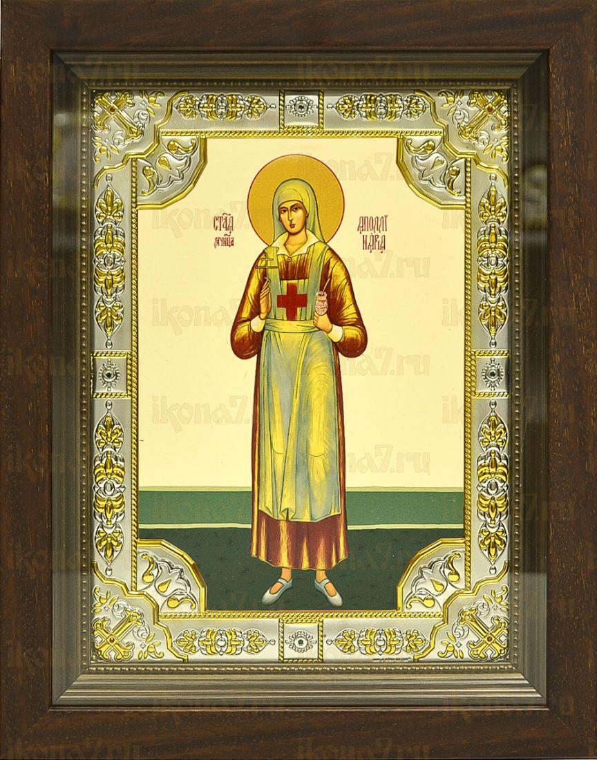 Аполлинария Тупицына (24х30), серебро