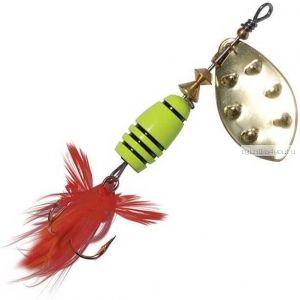 Блесна Extreme Fishing Total Obsession №1 / 5 гр / цвет:  15-FluoYellow/G