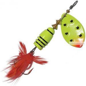 Блесна Extreme Fishing Total Obsession №3 / 9 гр / цвет:  14-FluoYellow/FluoYe