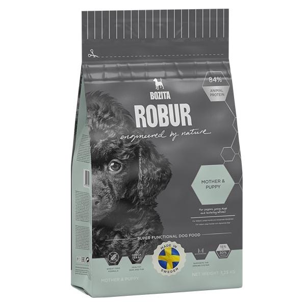 Корм сухой BOZITA ROBUR Mother & Puppy для щенков, юниоров, беременных и кормящих собак 1.25кг