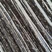 Нитяные шторы  оптом  радуга с люрексом цвет черный