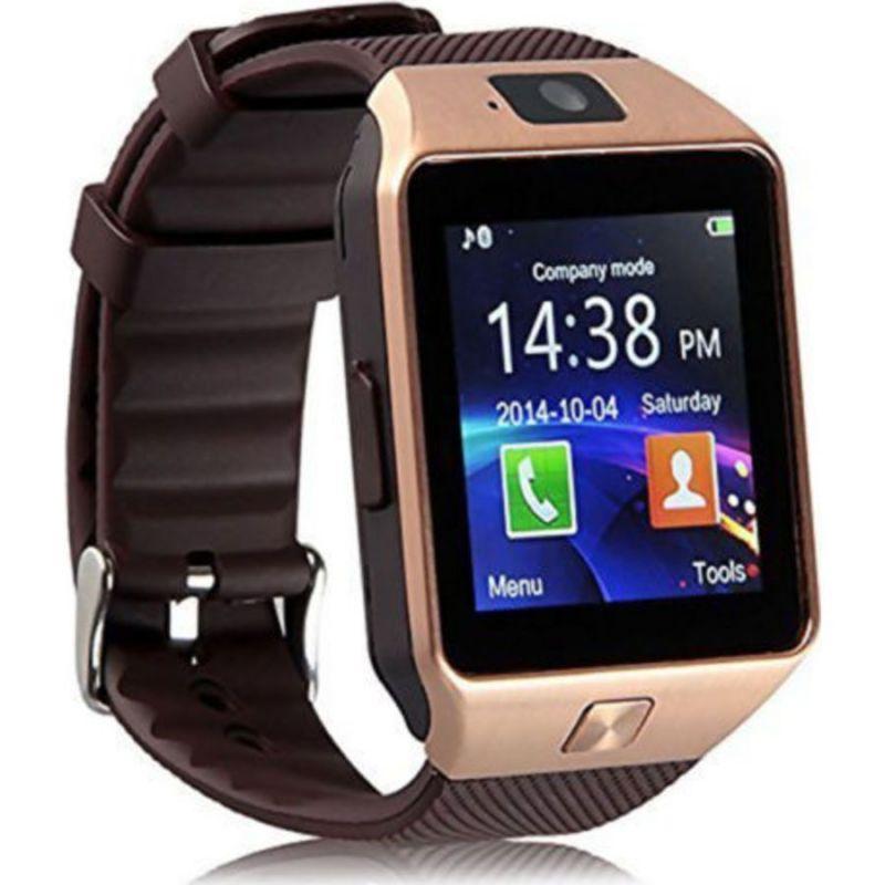 Умные Часы Smart Watch DZ09, Цвет Золотистый