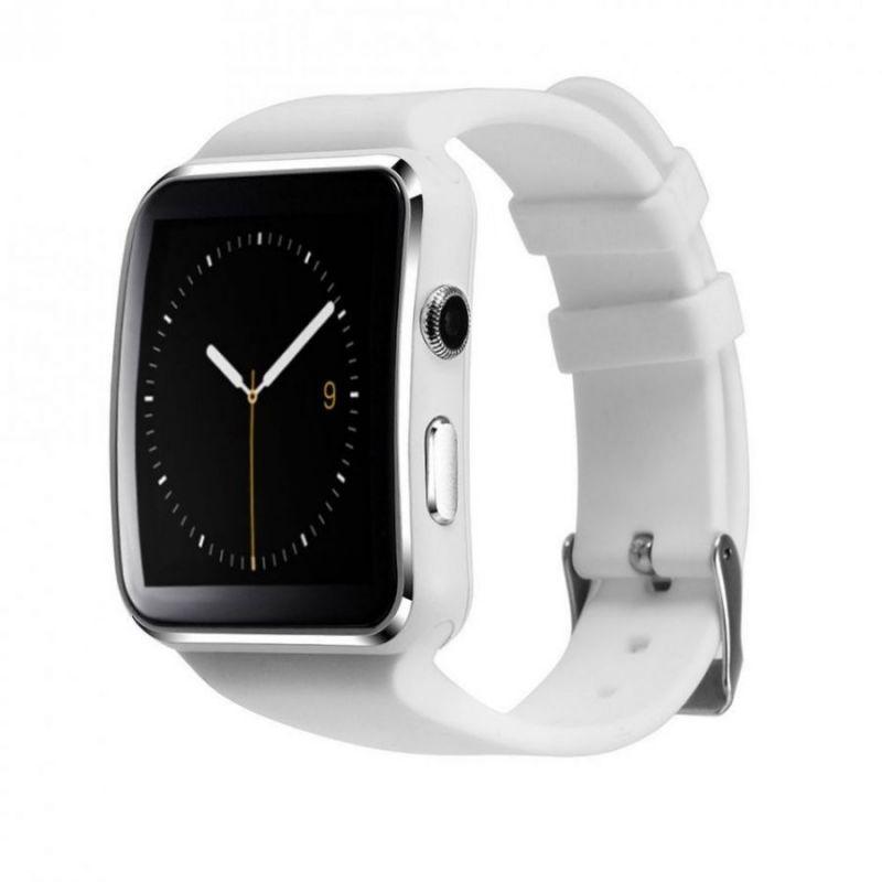 Умные часы Smart Watch X6, цвет белый
