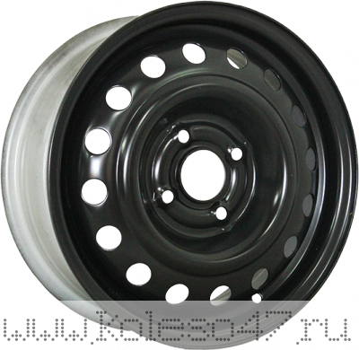 TREBL X40045 6x16/4x108 ET23 D65.1 Black