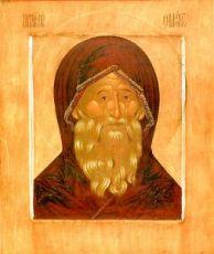 Икона Симеон Богоприимец (копия 16 века)