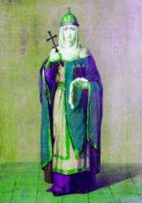 Ольга, княгиня (копия старинной иконы)
