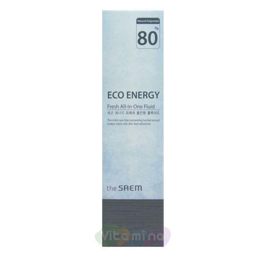 Флюид для мужчин освежающий The Saem Eco Energy Fresh All In One Fluid, 130 мл