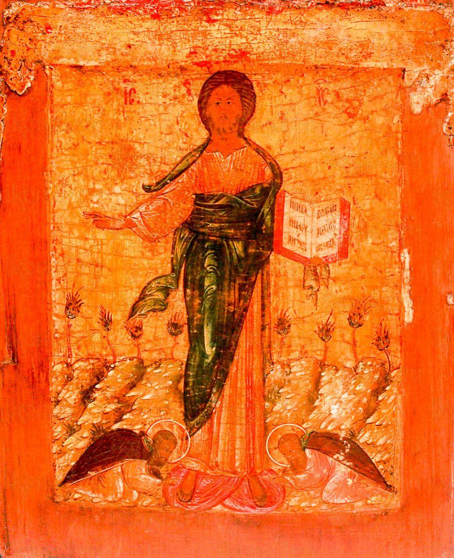 Икона Спас Смоленский (копия 16 века)