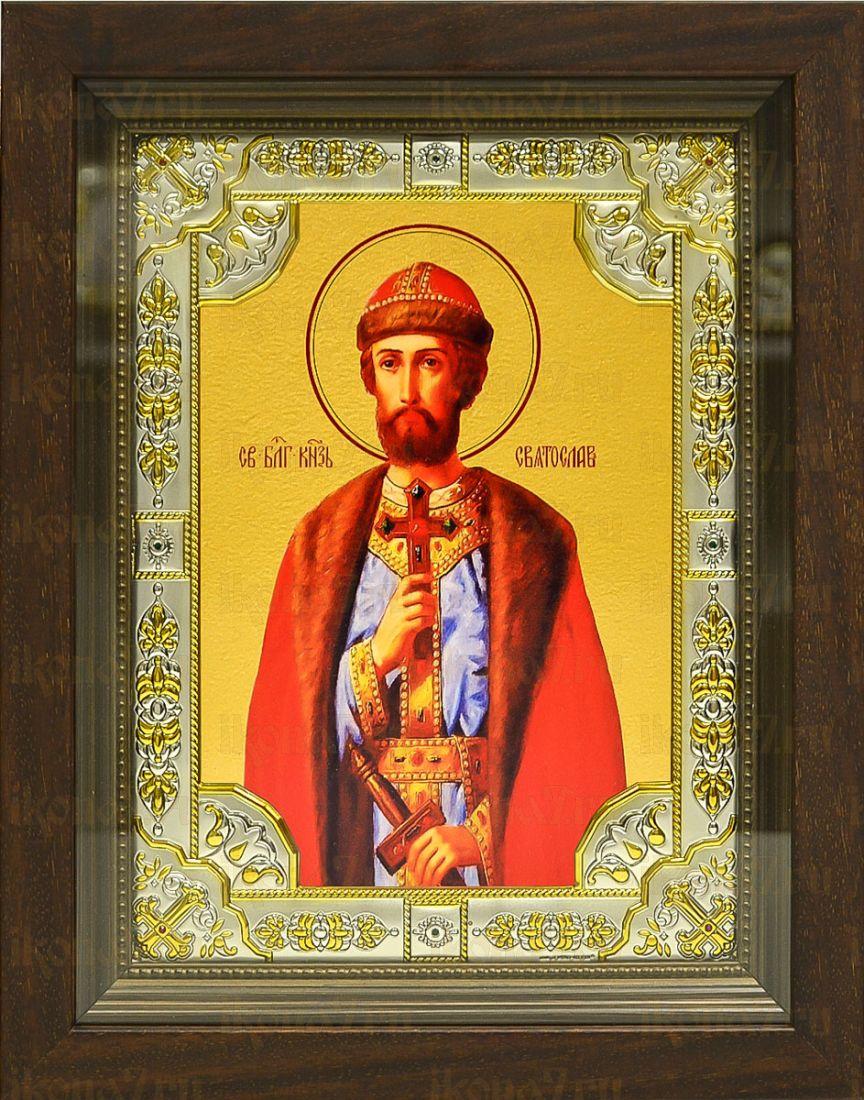 Святослав Владимирский (24х30), серебро