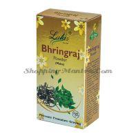 Брингарадж (порошок) маска и кондиционер для волос Лалас Хербал   Lalas Herbal Bhringraj Hair Powder