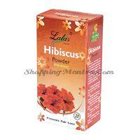 Гибискус (порошок) кондиционер и маска для волос Лалас Хербал | Lalas Herbal Hibiscus Hair Powder