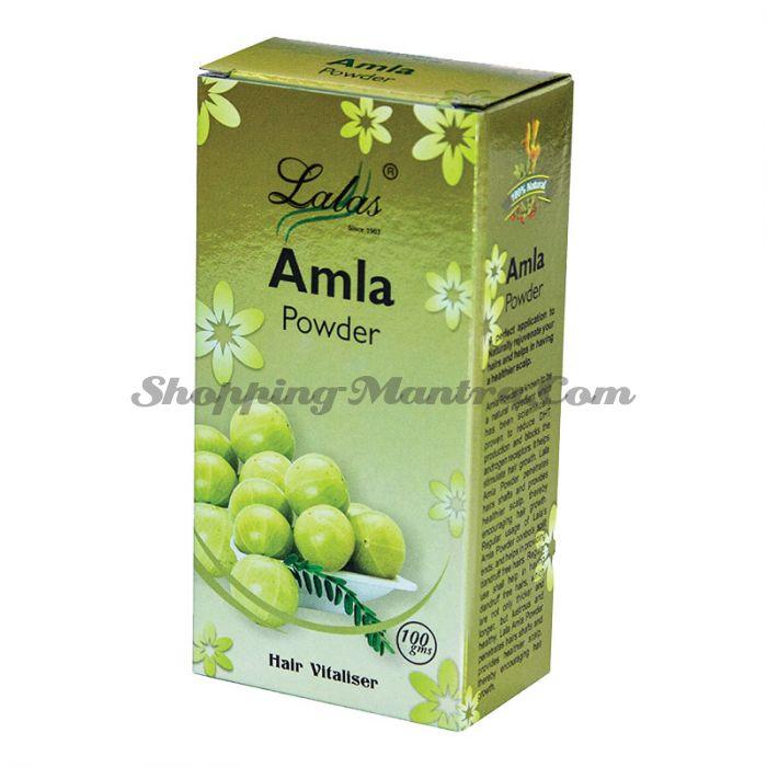 Амла (порошок) лечебная маска и кондиционер для волос Лалас Хербал | Lalas Herbal Amla Hair Powder