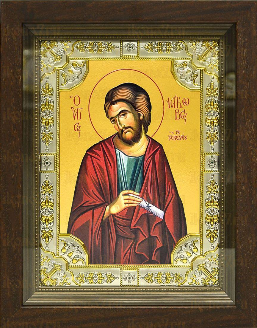 Иаков Заведеев, апостол (24х30), серебро