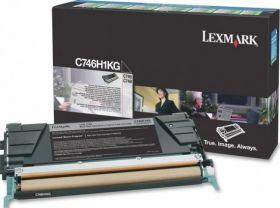 Lexmark C746H1KG картридж black оригинал 12000 стр