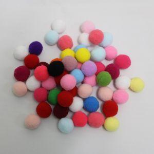 Помпоны, размер 25 мм, цвет МИКС (1уп = 50шт)