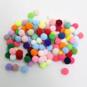 `Помпоны, размер 15 мм, цвет МИКС (1уп = 10шт)