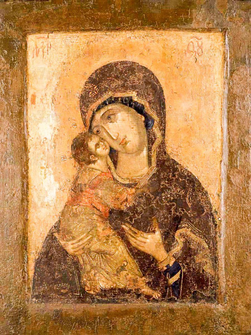 Владимирская икона Божией Матери (копия 16 века)