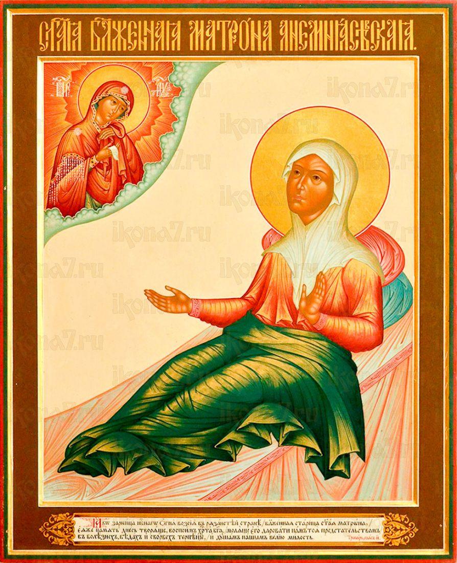 Икона Матрона Анемнясевская
