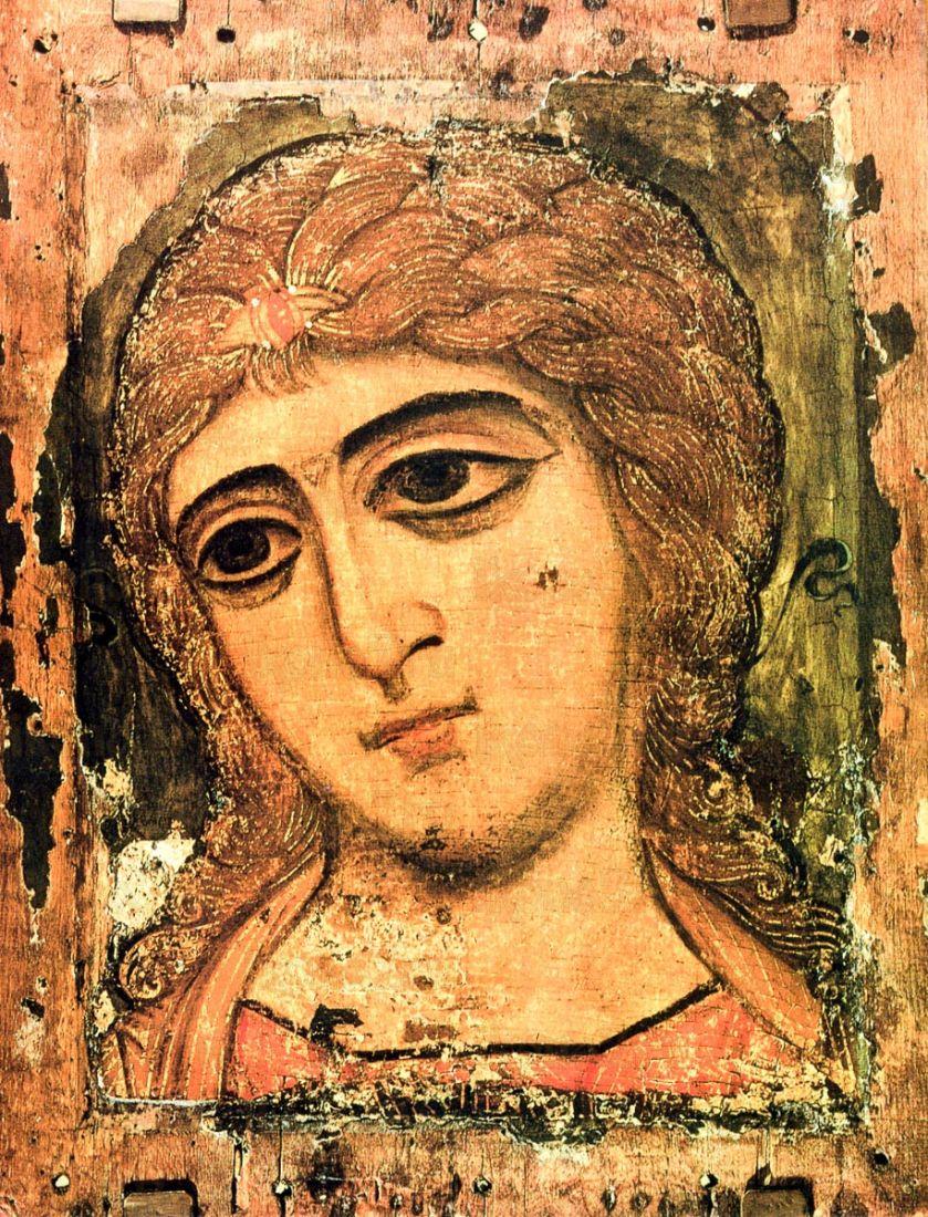 Икона Ангел Златые власы (копия 12 века)
